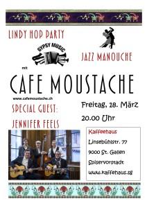 Konzert Café Moustache Kaffeehaus St. Gallen